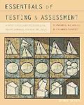Essentials of Testing and Assessment: A Pr