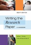 Writing the Research Paper: A Handbook