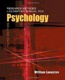 Research Methods Laboratory Manual for Psychology (with InfoTrac )