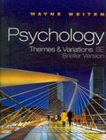 Psychology: Themes and Variations, Briefer Edition (with Concept Charts) (Available Titles C...