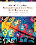 Human Behavior in the Macro Social Environment