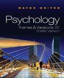 Psychology: Themes and Variations: Briefer Version