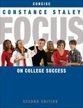 FOCUS on College Success, Concise Edition (Textbook-specific CSFI)