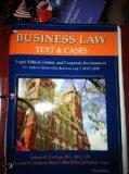Business Law Text and Cases (Legal, Ethical, Global, and Corporate Environment)