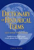 Dictionary of Historical Terms: :2nd Ed. - Chris Cook