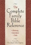 Complete Family Bible Reference Dictionary Concordance, Index