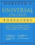 Webster's Universal College Thesaurus