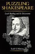 Puzzling Shakespeare: Local Reading and Its Discontents