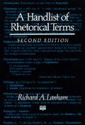 Handlist of Rhetorical Terms