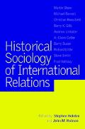 Historical Sociology and International Relations