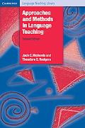 Approaches and Methods in Language Teaching A Description and Analysis