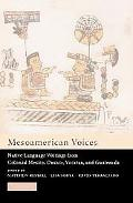 Mesoamerican Voices Native-Language Writings From Colonial Mexico, Yucatan, And Guatemala