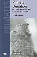 Primate Dentition An Introduction to the Teeth of Non-human Primates