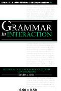 Grammar in Interaction Adverbial Clauses in American English Conversations