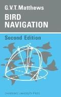 Bird Navigation - Geoffrey V. T. Matthews - Paperback