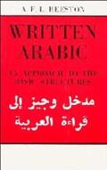 Written Arabic An Approach to the Basic Structures
