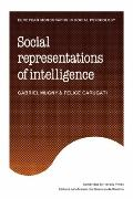 Social Representations of Intelligence (European Monographs in Social Psychology)
