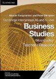 Cambridge International AS and A Level Business Studies Teacher's Resource CD-ROM (Cambridge...