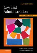 Law and Administration (Law in Context)