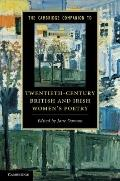 The Cambridge Companion to Twentieth-Century British and Irish Women's Poetry (Cambridge Com...