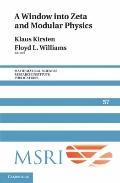 Window into Zeta and Modular Physics