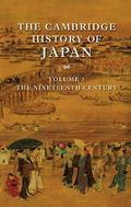 Cambridge History of Japan The Nineteenth Century