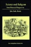 Science and Religion: Some Historical Perspectives (Cambridge Studies in the History of Scie...