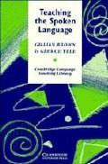 Teaching the Spoken Language - Gillian Brown - Hardcover