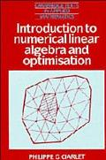 Introduction to Numerical Linear Algebra Dn Optimisation