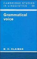 Grammatical Voice, Vol. 59