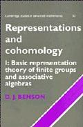 Representations and Cohomology Basic Representation Theory of Finite Groups and Associative ...