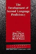 Development of Second Language Proficiency