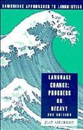Language Change:progress or Decay?-rev.