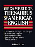 Cambridge Thesaurus of American English