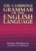Cambridge Grammar of the English Language