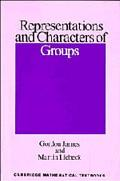 Representations+characters of Groups