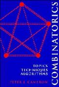Combinatorics:topics,tech.,algorithms