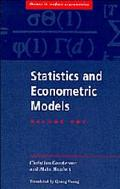 Statistics+econometric Models-v.1