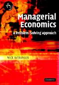 Managerial Economics A Problem-Solving Approach