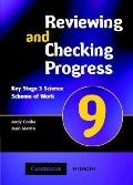 Reviewing and Checking Progress 9