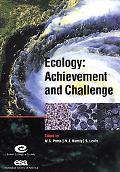 Ecology Achievement and Challenge The 41st Symposium of the British Ecological Society Joint...