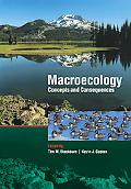 Macroecology Concepts and Consequences
