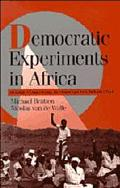 Democratic Experiments in Africa Regime Transitions in Comparative Perspective