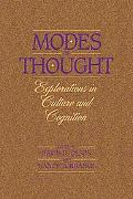 Modes of Thought Explorations in Culture and Cognition