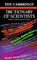 Cambridge Dictionary of Scientists