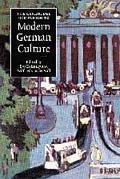 Cambridge Companion to Modern German Culture