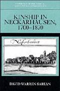 Kinship in Neckarhausen, 1700-1870