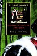 Cambridge Companion to English Literature, 1500-1600