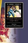 The Cambridge Companion to British Theatre, 1730-1830 (Cambridge Companions to Literature)