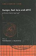 Europe, East Asia and the Apec A Shared Global Agenda